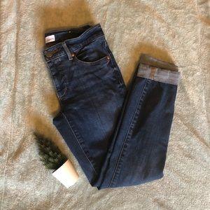 LOFT Skinny Curvy fit jeans